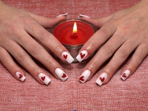 ongles rouge. Black Bedroom Furniture Sets. Home Design Ideas
